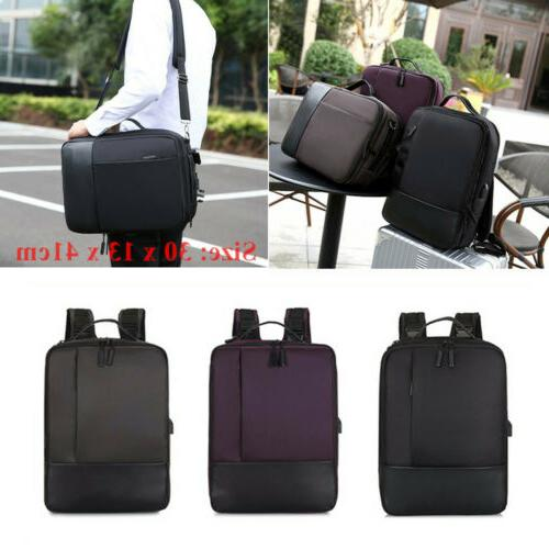 1x nylon premium anti theft laptop backpack