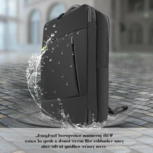 Lavievert Water-Resistant Backpack Briefcase 17