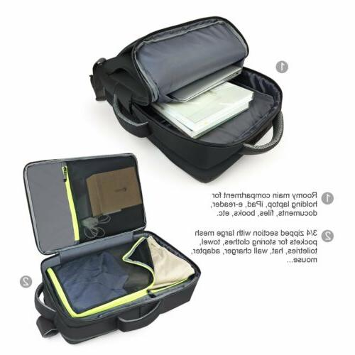 Lavievert 2-in-1 Backpack Briefcase 17 Inch Laptop