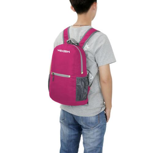 20L Foldable Waterproof Travel Backpack Laptop Multifunction Outdoor School