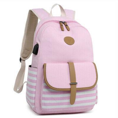 2Pcs Backpack Travel Satchel Rucksack