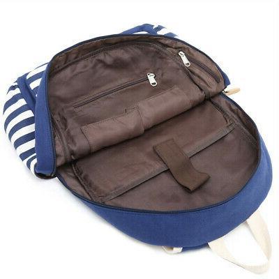 2Pcs Girls Backpack Shoulder Bags Travel Satchel