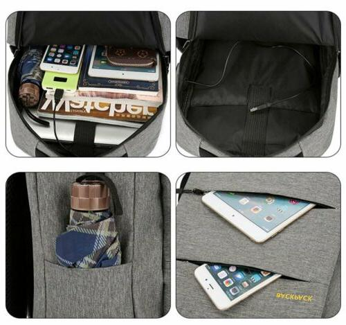 3PCS/Set Bookbag Travel Bag With