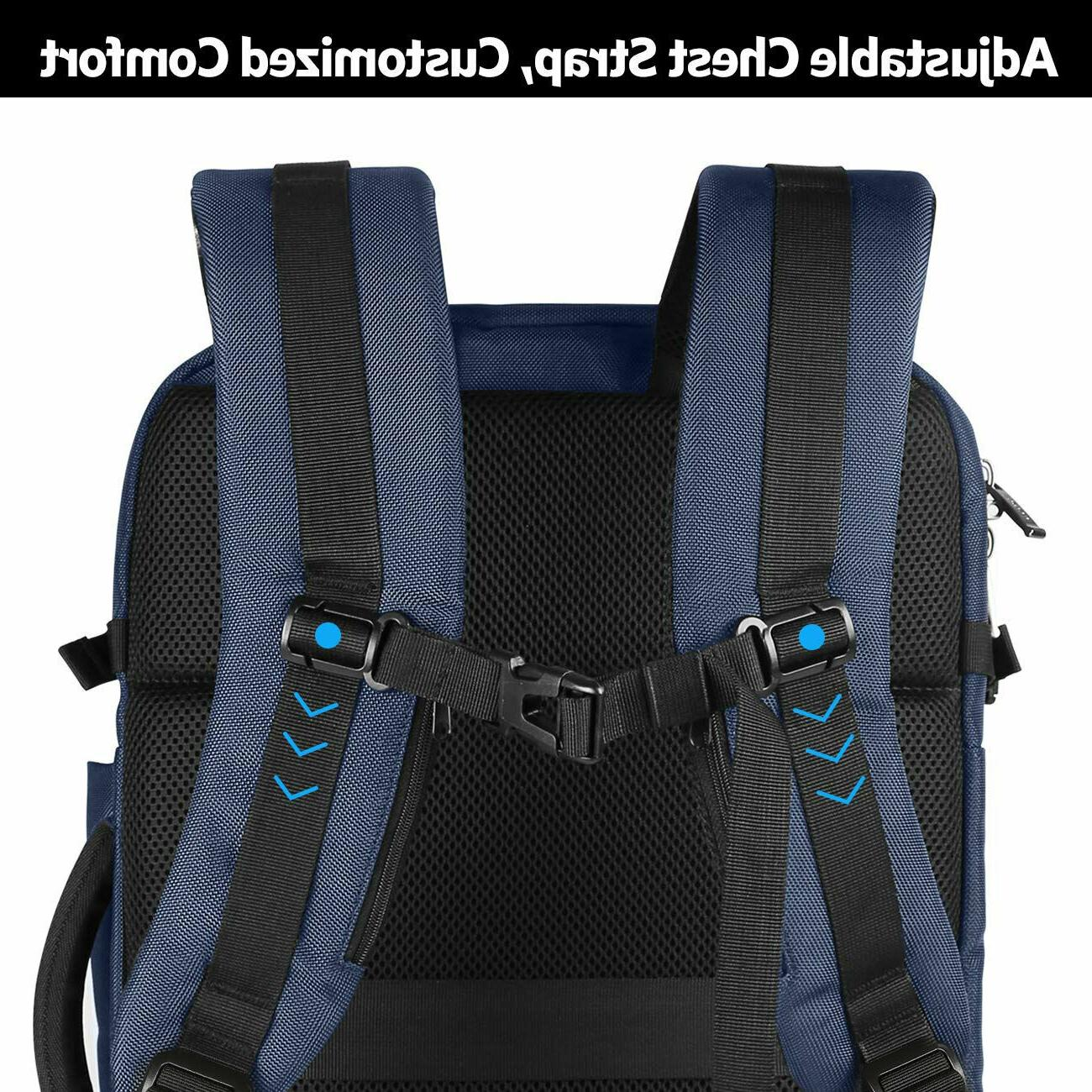 Inateck 17 Laptop 40L Carry-On Backpack Blue