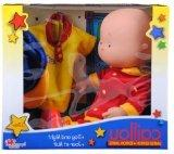 "Caillou 14"" Exclusive Day and Night Doll with Two Outfits"