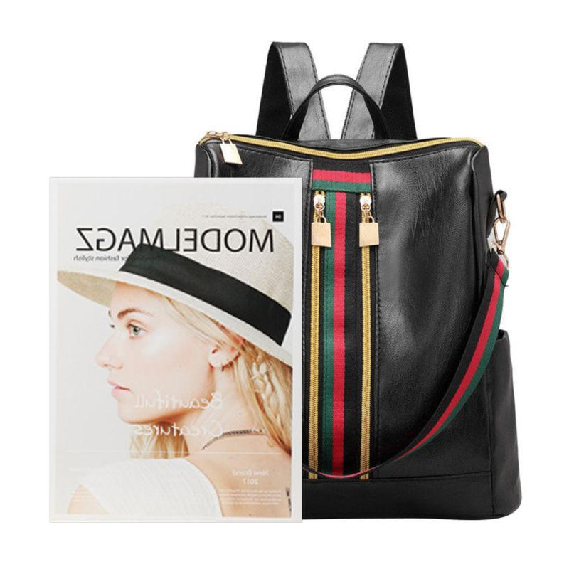 Fashion Leather Backpack Backpack