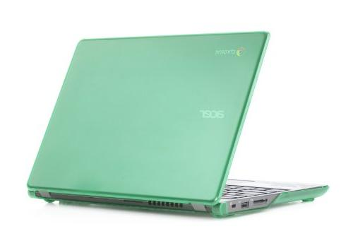 "Green iPearl mCover Hard Shell Case for 11.6"" Acer C720 C720"