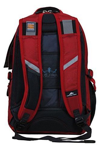 High Business Elite Backpack Red Laptop &