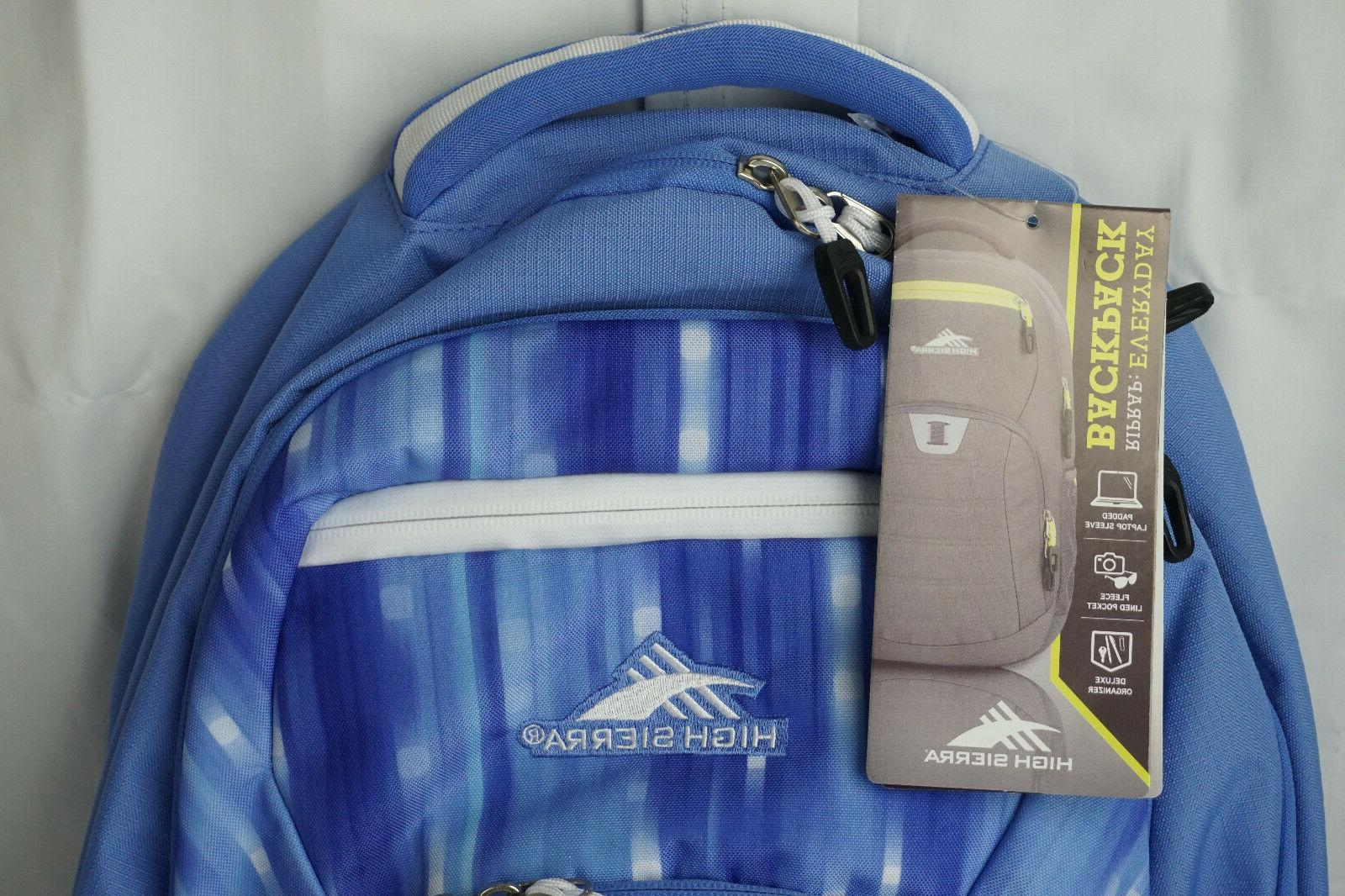 "High 20"" Backpack, Blue Can Hold"