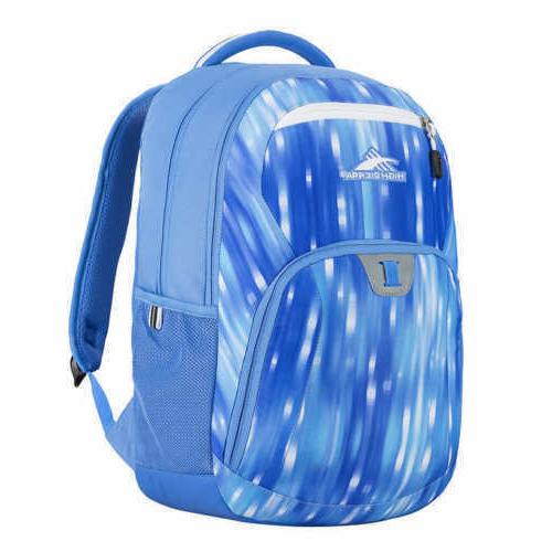 "High Sierra Riprap Lifestyle 20"" Backpack, Blue Can Hold 15"""