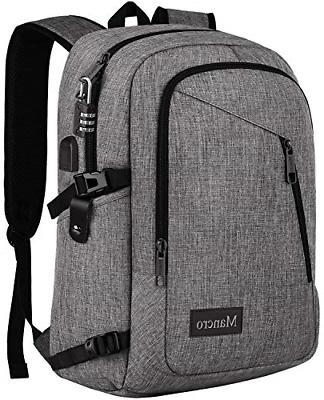 Laptop Backpack, Travel Computer Bag for Women amp Men, Anti