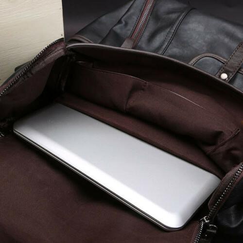 Men's Shoulder Notebook School Bags