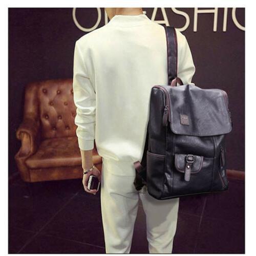 Men's Laptop Backpack Shoulder Bag Notebook School