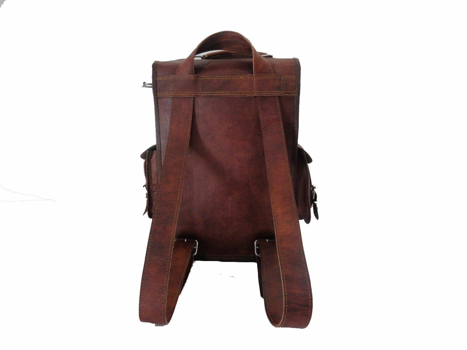 Mens Vintage Laptop Rucksack Messenger Bag NEW