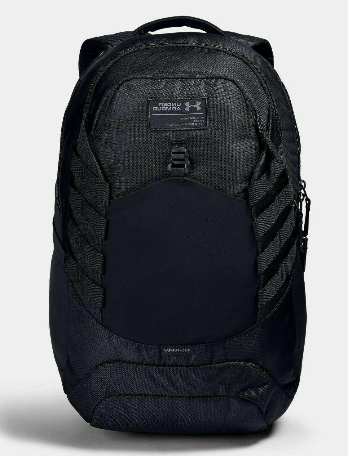 "NEW Under Armour Hudson Backpack Rucksack Fits 17"" Laptop Bl"