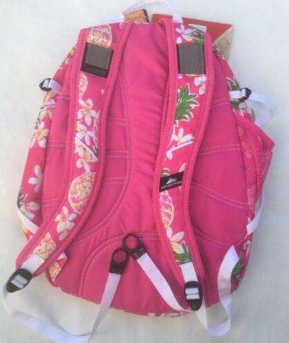 PInk High Sierra Fatboy Backpack Flamingo/Pink
