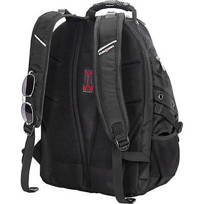 SWISS Backpack Hiking BLACK In Computer S