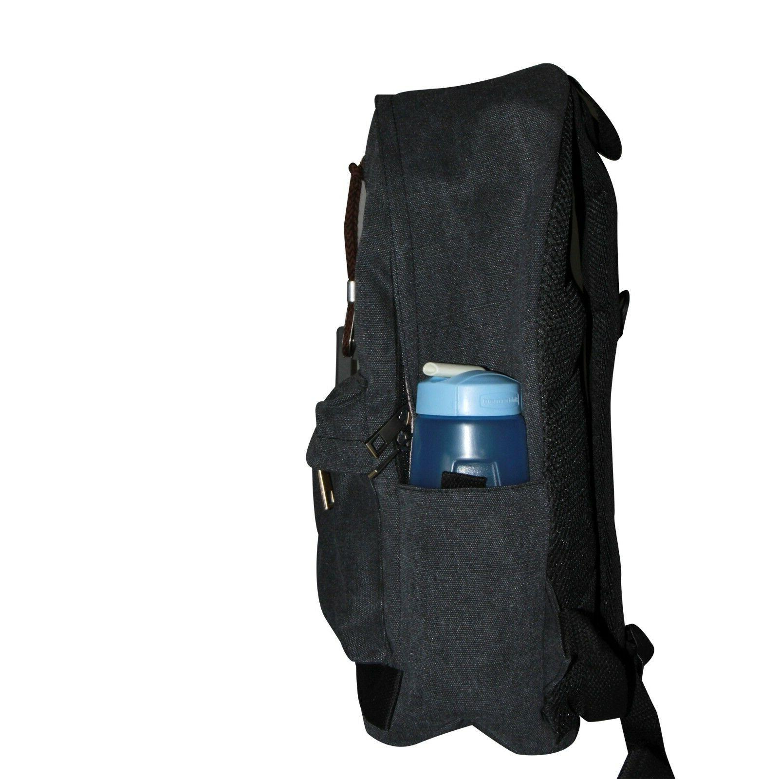 School Business Backpack Water USB
