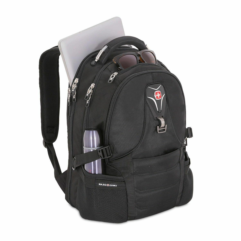 """Swiss Gear 17"""" Laptop Tablet Durable Black"""