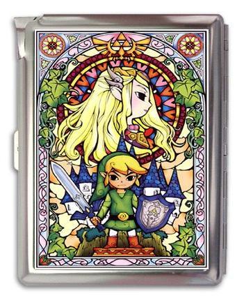 The Legend of Zelda Cigarette Case Lighter or Wallet Busines