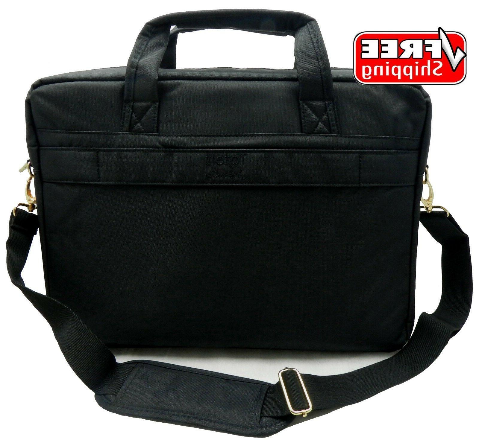 ToteIt Laptop Notebook Computer Shoulder Bag Case Briefcase