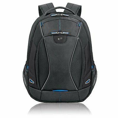 active laptop backpack black