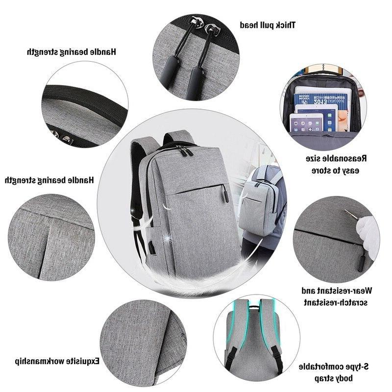 Adisputent Usb School Rucksack Theft Daypacks Male <font><b>Backpack</b></font> Mochila