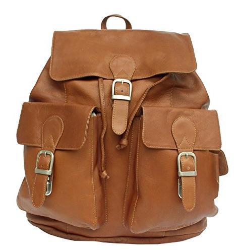 adventurer buckle flap backpack saddle