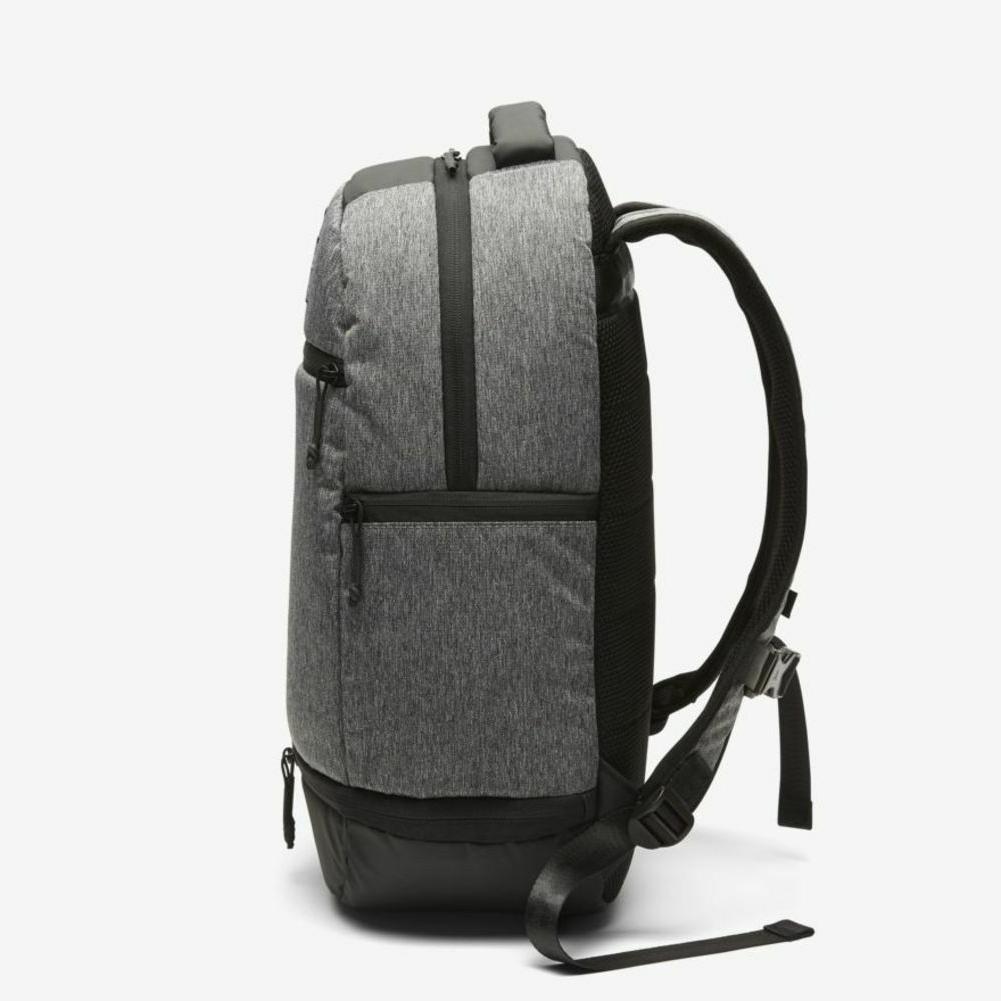826a4077c44 Nike Air Jordan Heather Backpack Sleeve & Shoe Pocket