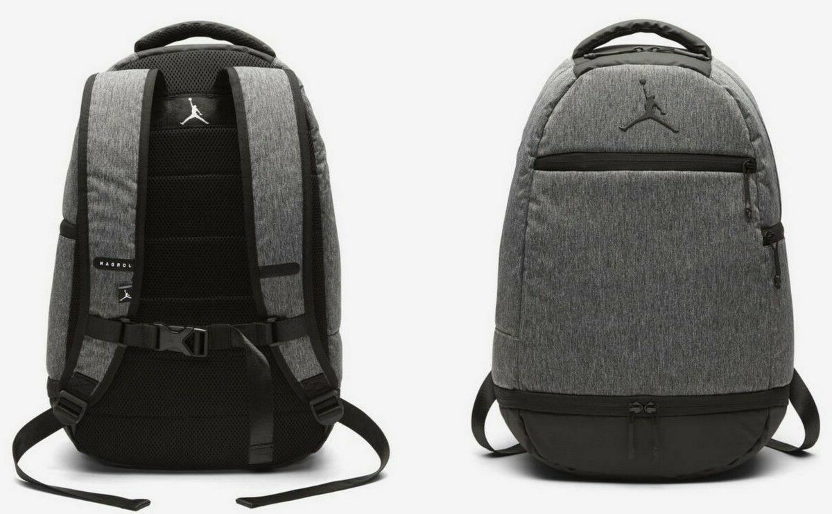 09e221b7e35 Nike Air Jordan Skyline Heather Backpack w/ Laptop