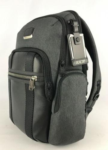 Tumi Alpha Nellis Laptop Business Backpack Arctic 232681AT2