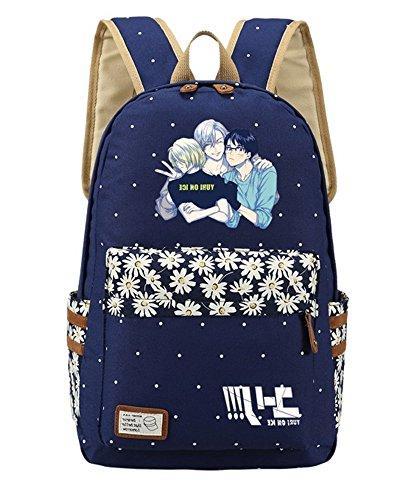 anime yuri ice bookbag backpack