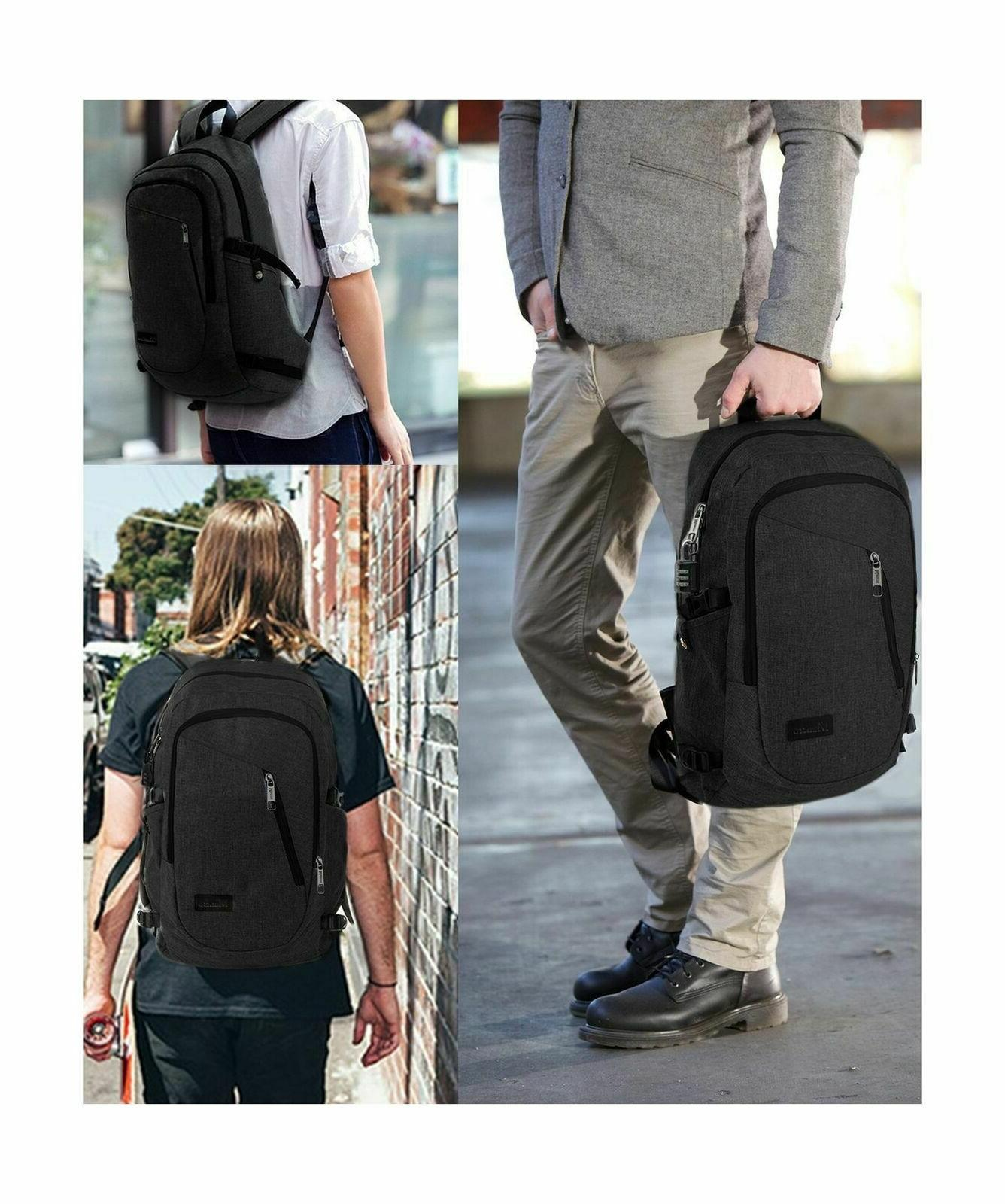 Anti Theft Business Backpack Port by Mancro