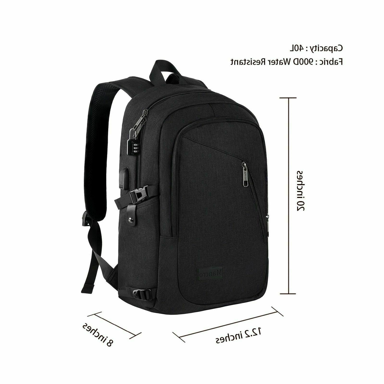 Anti Laptop Backpack with Port