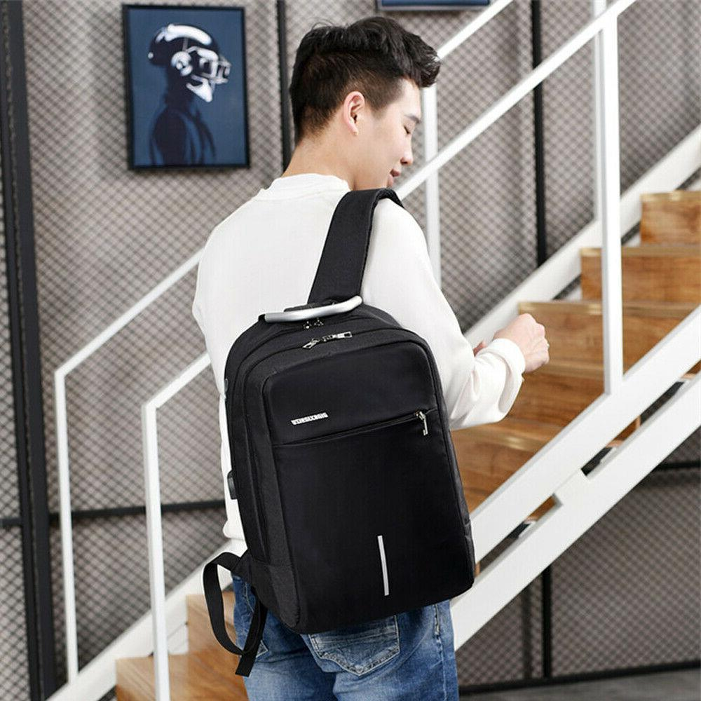 Anti-theft Laptop Backpack USB Charge Travel Computer