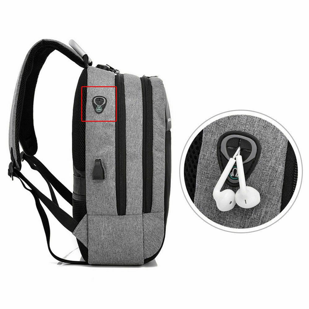 Anti-theft Laptop Backpack Charge Port School Travel Computer
