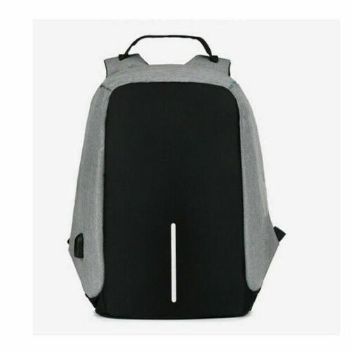Anti-theft Laptop Notebook +USB Charging Port School Bag Travelling Bag