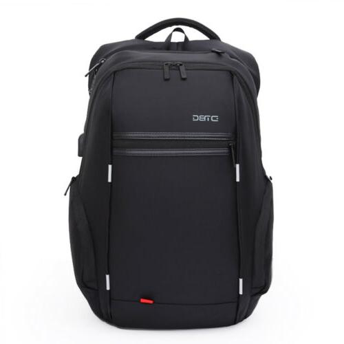 anti theft men notebook laptop backpack business