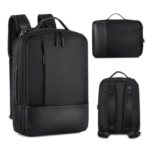 anti theft men women laptop notebook backpack