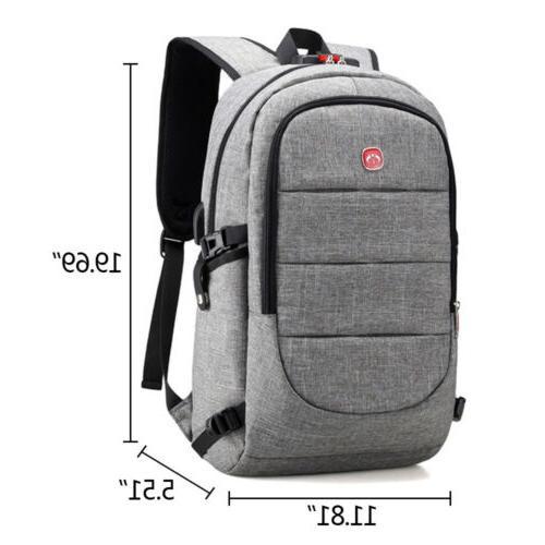Mens Bag Charging Travel Laptop Bag