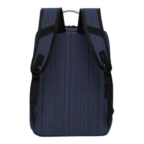 "Anti-theft Men Women 15.6"" Laptop Backpack School Bag USB"