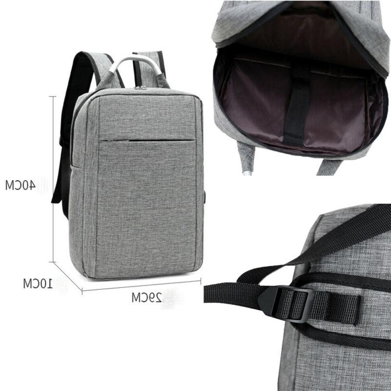 Anti-theft Notebook <font><b>Backpack</b></font>+USB School Bag Waterproof