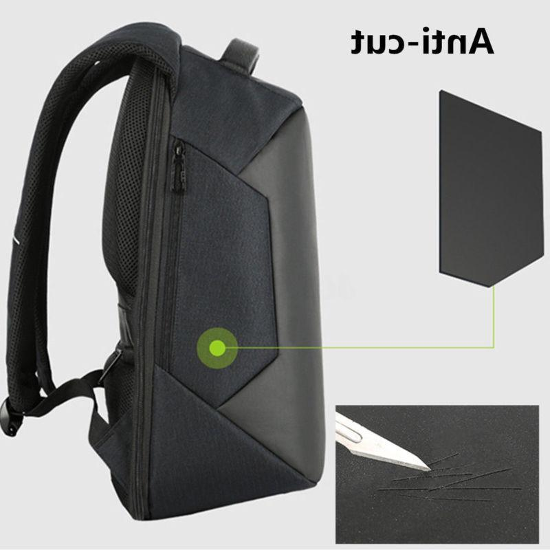 Anti-theft Backpack+USB Bag