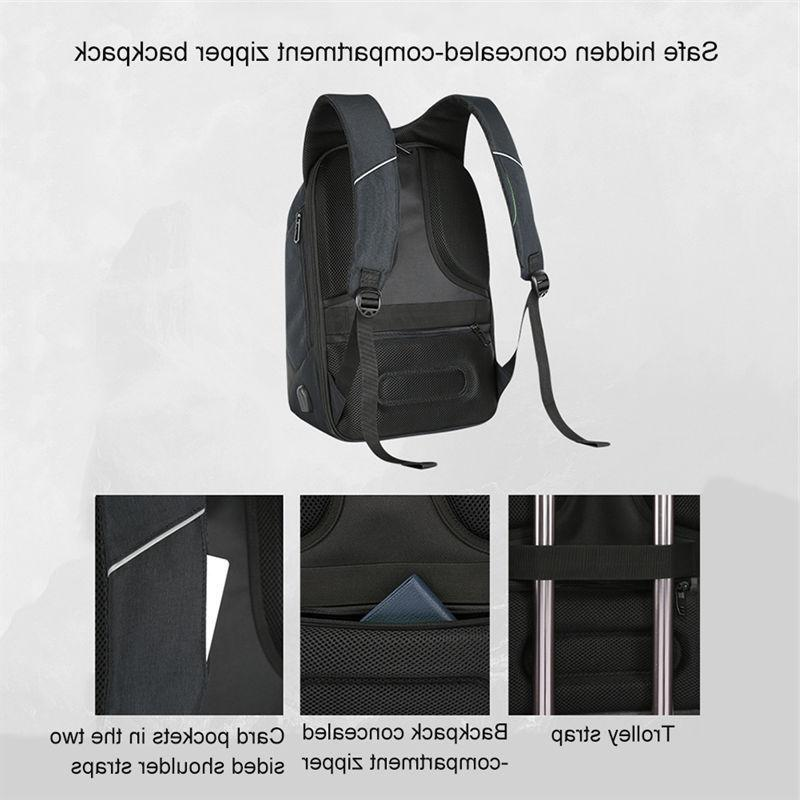 Anti-theft Backpack+USB