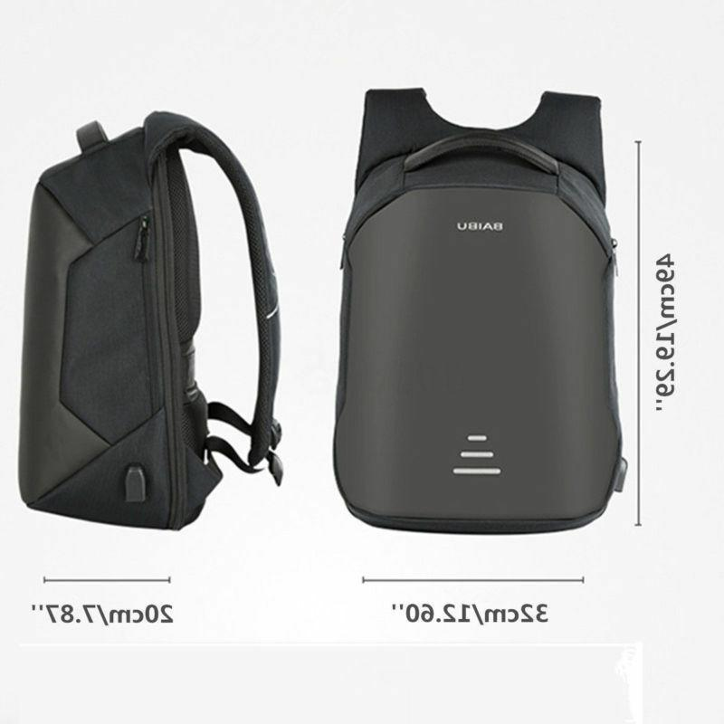 Anti-theft Notebook Backpack+USB Charging Business Bag