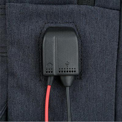 Anti-theft Mens Notebook Travel School USB Charger