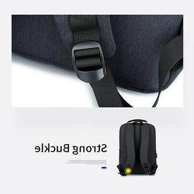 Anti-theft Mens Notebook Travel Bag USB w/