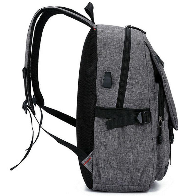 Anti-theft Mens Backpack School Shoulder
