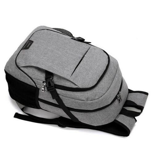 Anti-Theft Mens Shoulder Backpack Travel School Bag