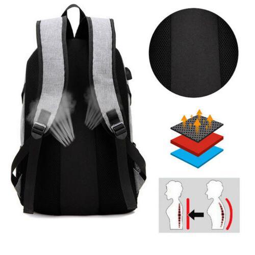 Anti-Theft Shoulder Backpack Notebook Travel